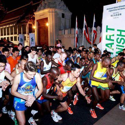Les Gaikokujin-Runners au Marathon de BANGKOK