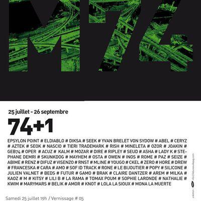 Exposition M74, à Marseille