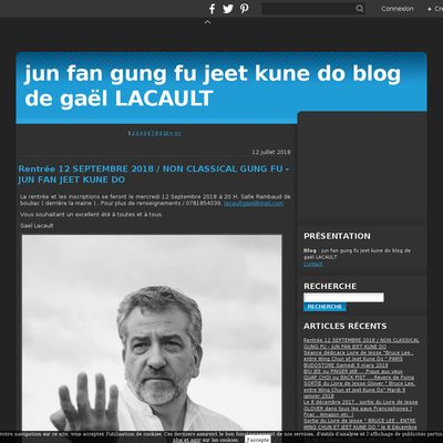 jun fan gung fu jeet kune do blog de gaël LACAULT