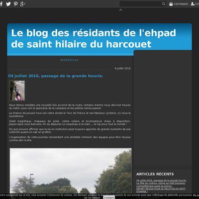 Le blog des résidants de l'ehpad de saint hilaire du harcouet