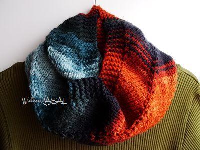 Snood multicolore