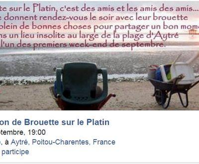 Brouette sur le Platin c'est aussi un événement FB :-)