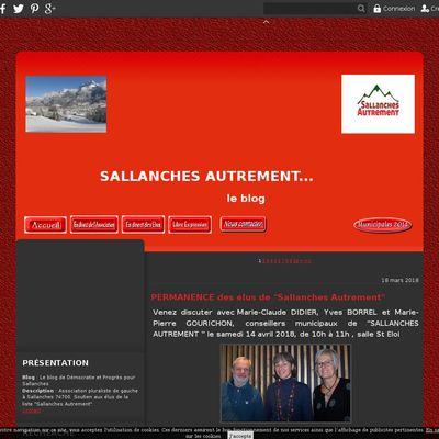 Le blog de Démocratie et Progrès pour Sallanches