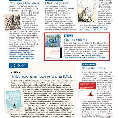 """Infirmière magazine présente """"Fausses Impressions"""""""