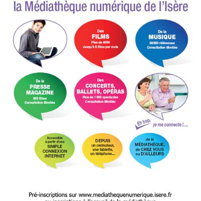 Découvrez la médiathèque numérique