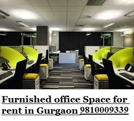 Furnished office space for rent in gurgaon || 9810009339