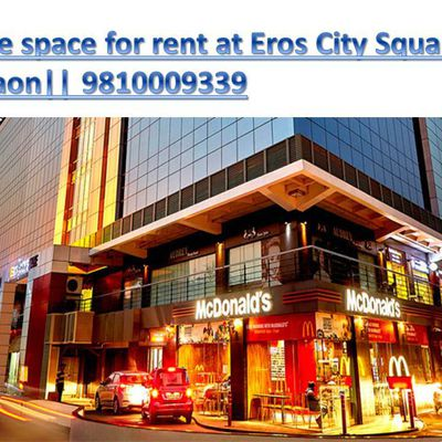 Office space for rent at eros city square gurgaon || 9810009339