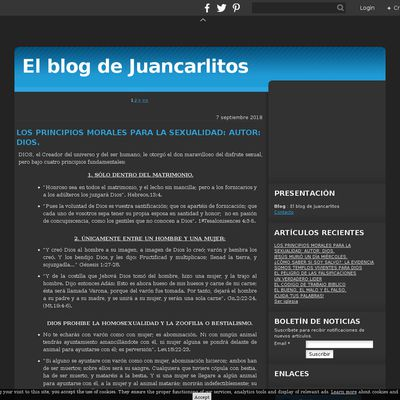 El blog de Juancarlitos