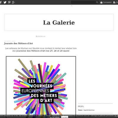 "Le blog de ""La galerie de Mornac"""