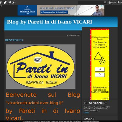 Blog by Pareti in di Ivano VICARI