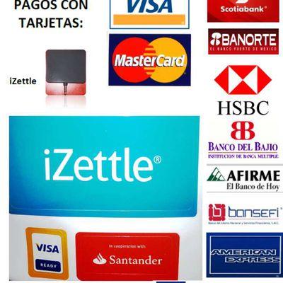 Recibimos Pagos con Tarjetas de Crédito y Débito