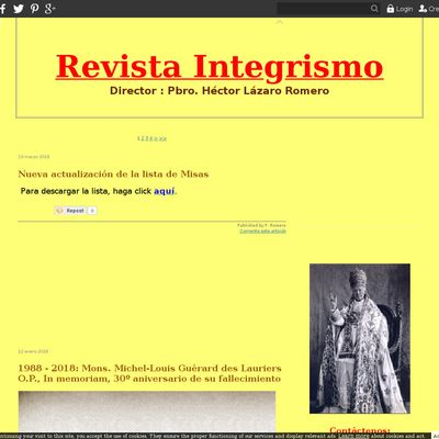 Revista Integrismo