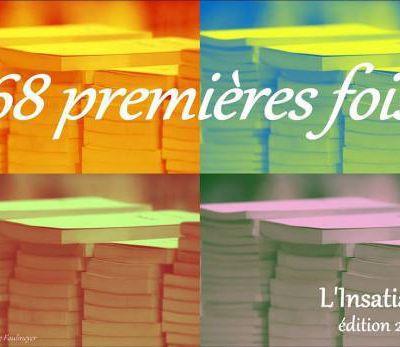 """LA LISTE DES """"68"""" PREMIERS ROMANS 2016"""