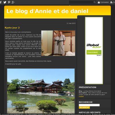 Le blog d'Annie et de daniel