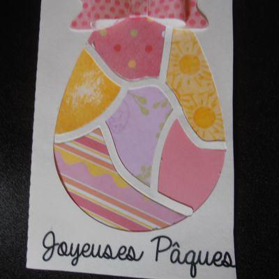 carte n° 2 de Pâques