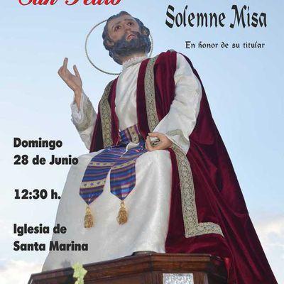 Festividad de San Pedro