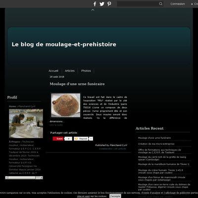 Le blog de moulage-et-prehistoire