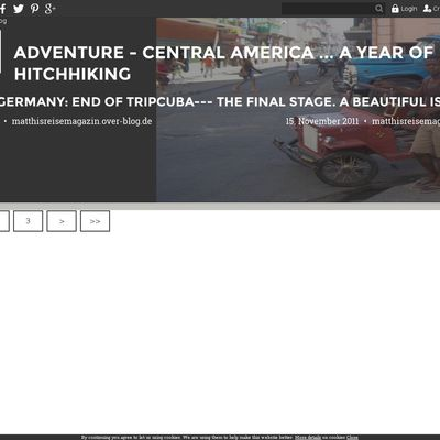 Adventure - Central America ... A year of hitchhiking