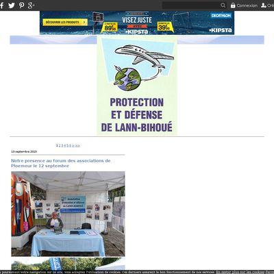 Le blog de Protection et défense de Lann-Bihoué