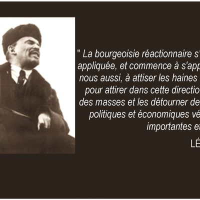 une citation de Lénine
