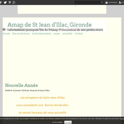 Amap de St Jean d'Illac,  Gironde