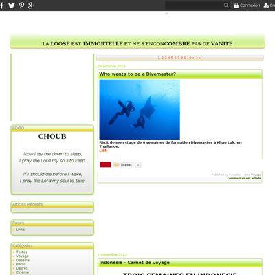 Le Choublog
