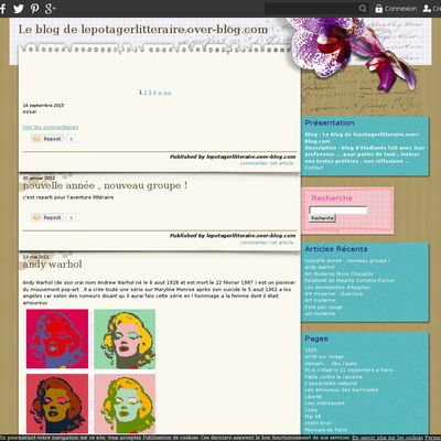 Le blog de lepotagerlitteraire.over-blog.com