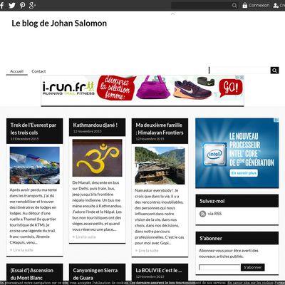 Le blog de Johan Salomon