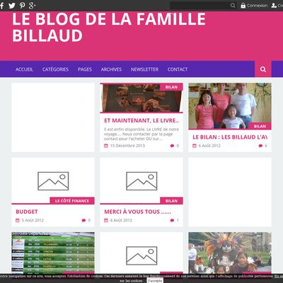 Le blog de la famille BILLAUD
