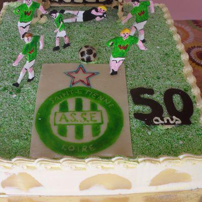 Poirier décor FC Saint-Etienne