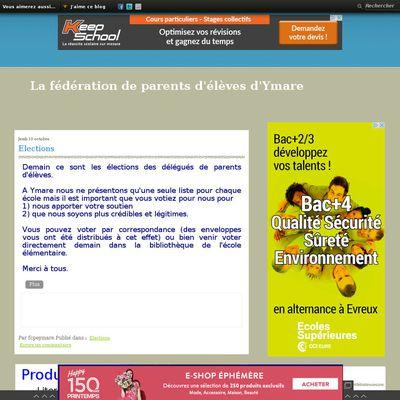 Le blog de la fédération des parents d'élèves d'Ymare