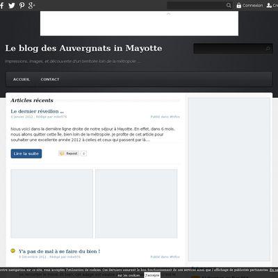 Le blog des Auvergnats in Mayotte