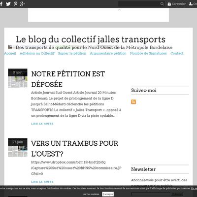 Le blog du collectif jalles transports
