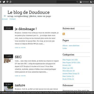 Le blog de Doudouce