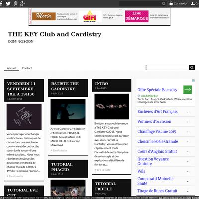 THE KEY Club and Cardistry