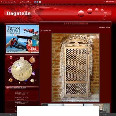 Le blog de BAGATELLE