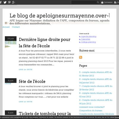 Le blog de apeloignesurmayenne.over-blog.fr