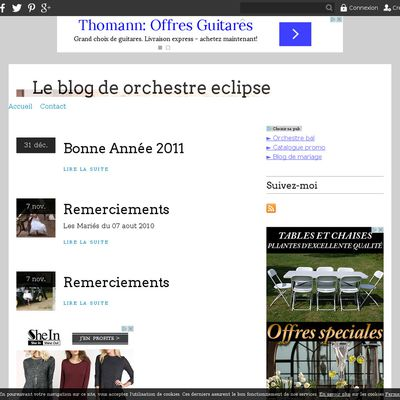 Le blog de orchestre eclipse