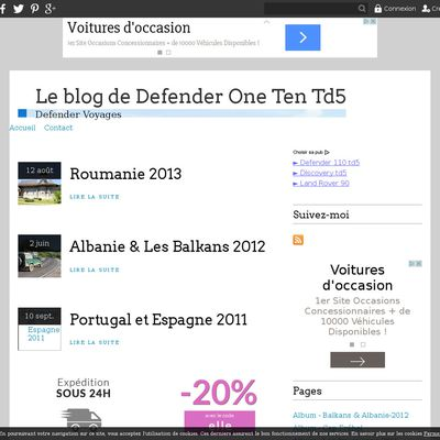 Le blog de Defender One Ten Td5