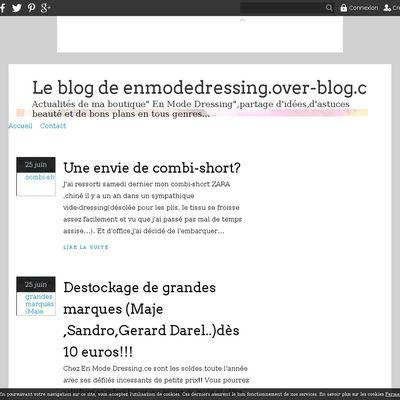 Le blog de enmodedressing.over-blog.com