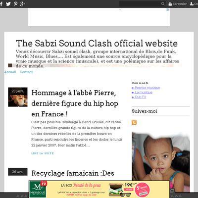 The Sabzi Sound Clash official website