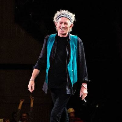 Keith Richards Previews 'Crosseyed Heart' at Intimate Listening Party