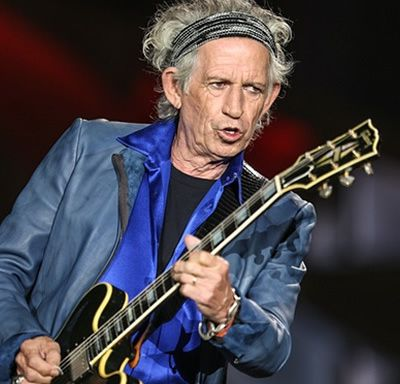 I owe it all to my mum's impeccable taste in music says rocker Keith Richards