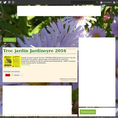 Le blog de Jardin Eyre