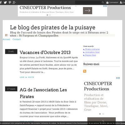 Le blog des pirates de la puisaye