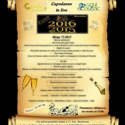 Capodanno 2015/2016 In Soul Acoustic