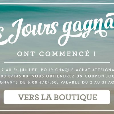 Coupons Cadeaux Stampin Up a gagner
