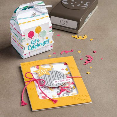 video Gratuite Stampin Up Shaker Card