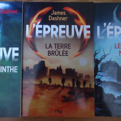 Le labyrinthe 1/2/3 // James DASHNER