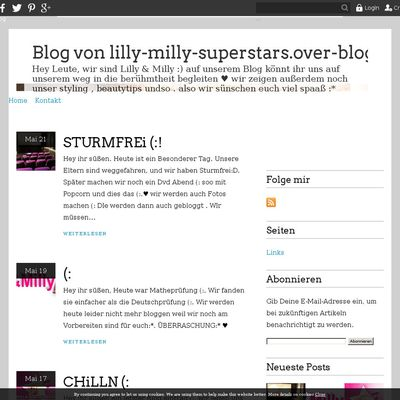 Blog von lilly-milly-superstars.over-blog.de